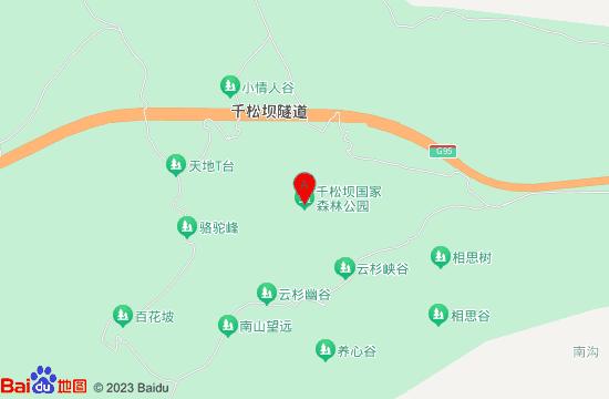 丰宁千松坝森林公园地图