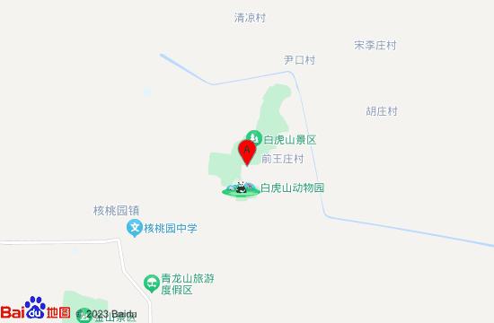 巨野白虎山动物园地图