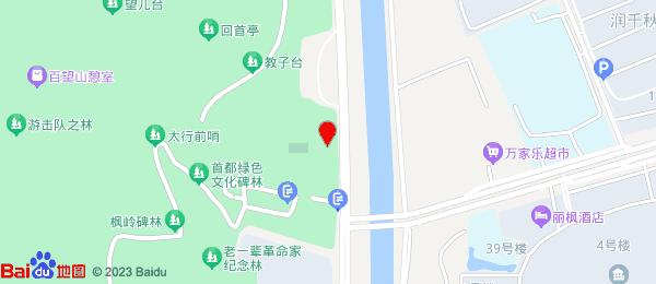 上地写字楼小区地图
