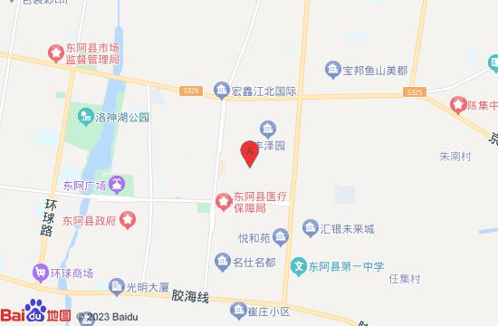 东阿阿胶世界景区地图