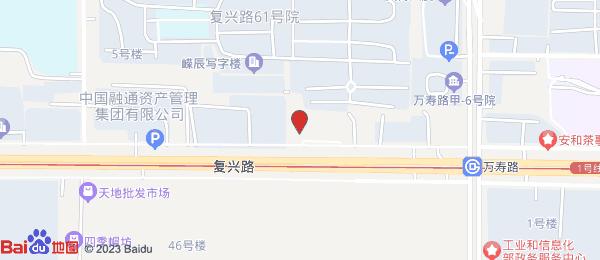 复兴路61号院小区地图