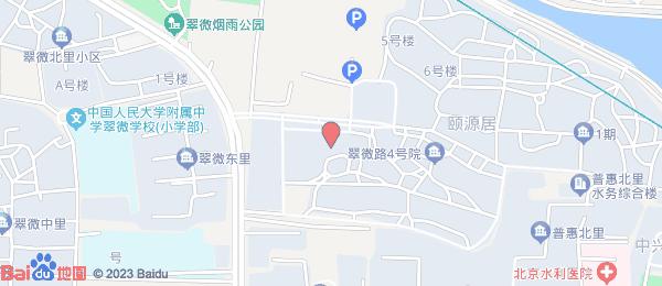 颐源居小区地图