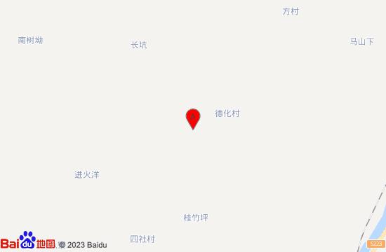 梅州南寿峰养生谷地图