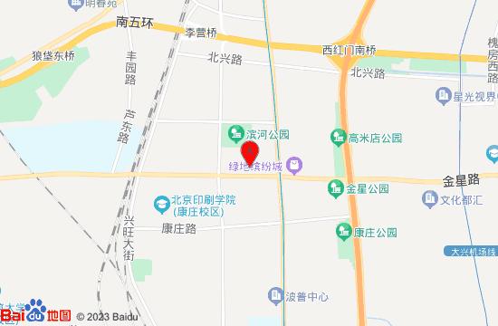 北京兴涛水上乐园地图