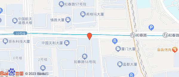 知春路52号院小区地图