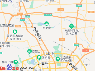 平西府 马连店小区 主卧 朝南 C室位置图片