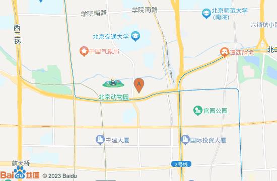 北京展览馆地图