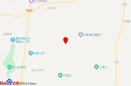济宁嘉祥凤凰山景区地图