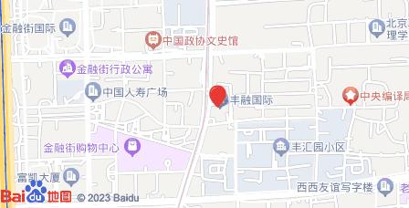 丰融国际中心地图 - 丰融国际中心在哪里?
