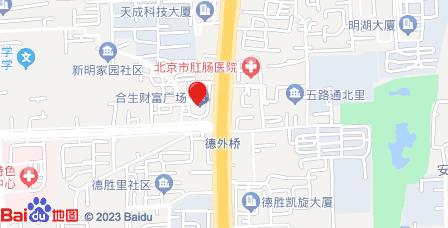 德胜合生财富广场地图 - 德胜合生财富广场在哪里?