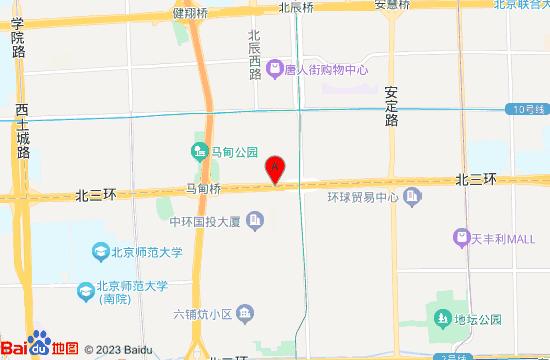 北京神玉艺术馆地图