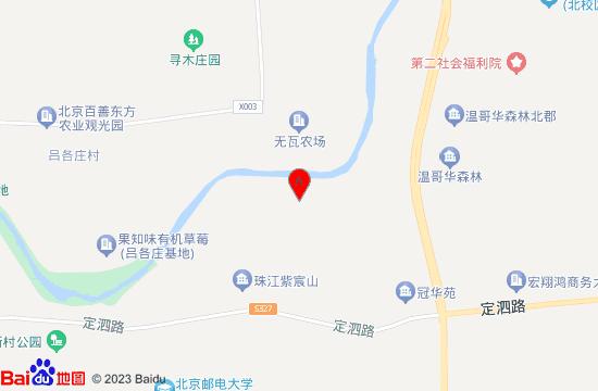 昌平京北欢乐城地图