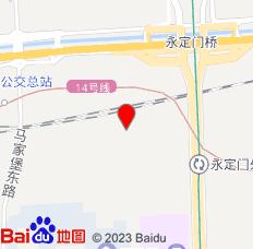 北京天坛卉卉西里民宿位置图