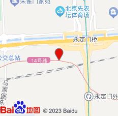 北京天坛卉卉民宿位置图