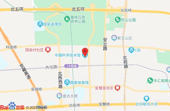 中国科技馆地图