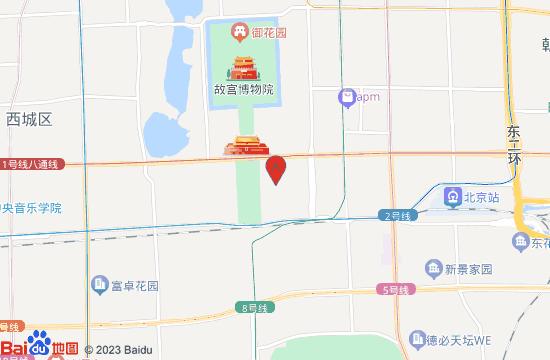 中国国家博物馆地图
