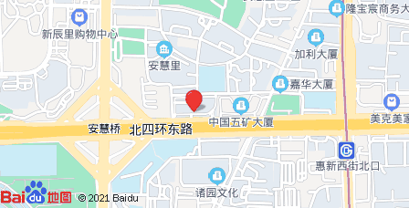 中国化工大厦地图 - 中国化工大厦在哪里?