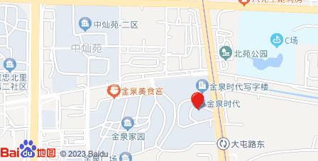 金泉时代大厦地图 - 金泉时代大厦在哪里?