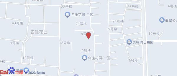 名佳花园四区小区地图