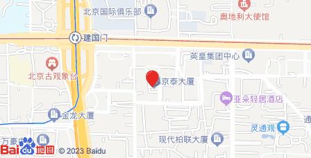 京泰大厦地图 - 京泰大厦在哪里?