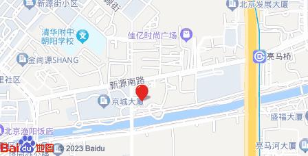 启皓中心地图 - 启皓中心在哪里?