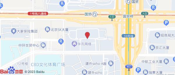 建外SOHO小区地图