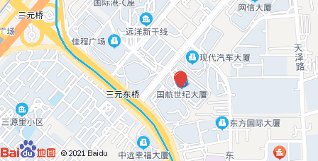 国航世纪大厦地图 - 国航世纪大厦在哪里?