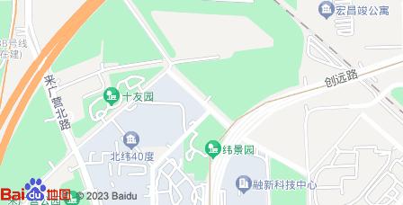 朝来科技园地图 - 朝来科技园在哪里?