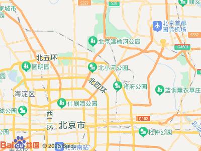 阜通 东亚望京中心 主卧 朝西南 A室位置图片