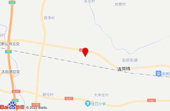 济宁四季牡丹生态园地图