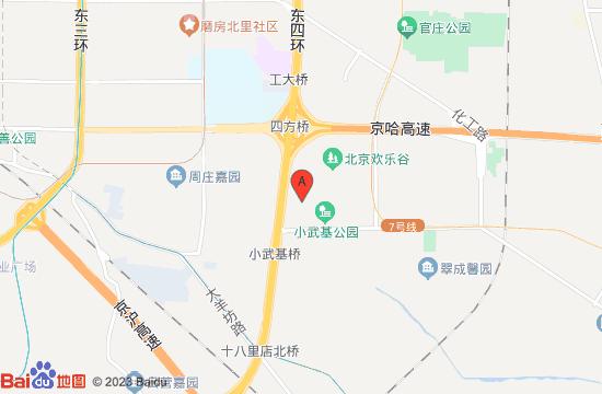 北京向东方温泉地图