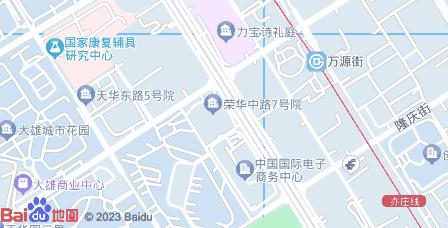 力宝广场A座地图 - 力宝广场A座在哪里?