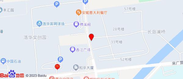 长岛澜桥小区地图