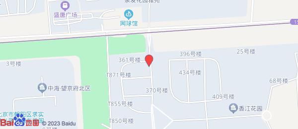 香江花园小区地图