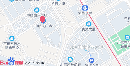 中航技广场地图 - 中航技广场在哪里?