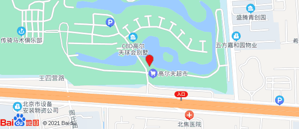 CBD高尔夫球会别墅小区地图