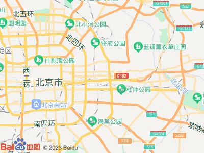 高碑店 美丽亚洲假日花园 主卧 朝东 B室位置图片