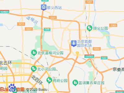 国展(北京) 莲竹花园 主卧 朝南 B室位置图片