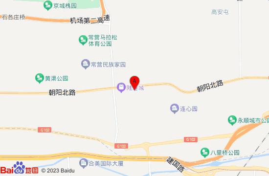 北京乐高探索中心地图