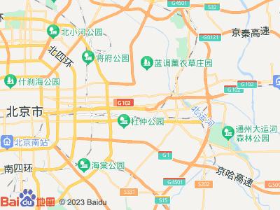 管庄 京通苑阳光华苑 主卧 朝南 A室位置图片