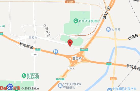 北京环球度假区地图