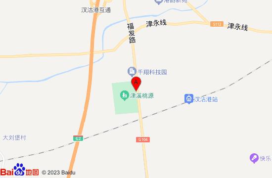 武清津溪桃源地图