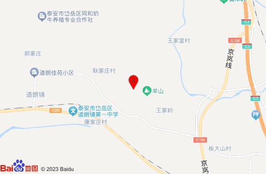 泰山仙草谷地图