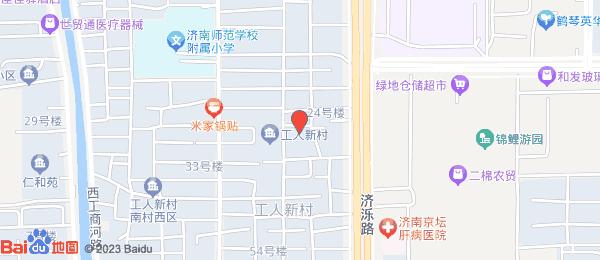 工人新村小区地图