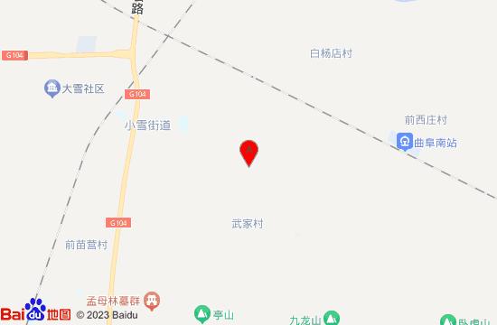 曲阜九龙山地图