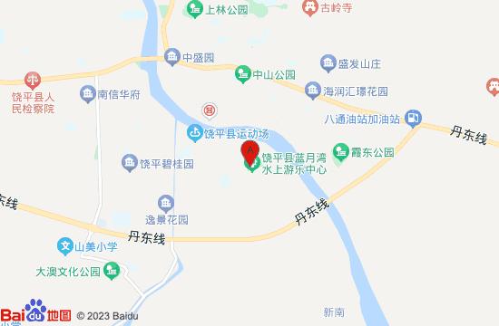饶平蓝月湾水上乐园地图