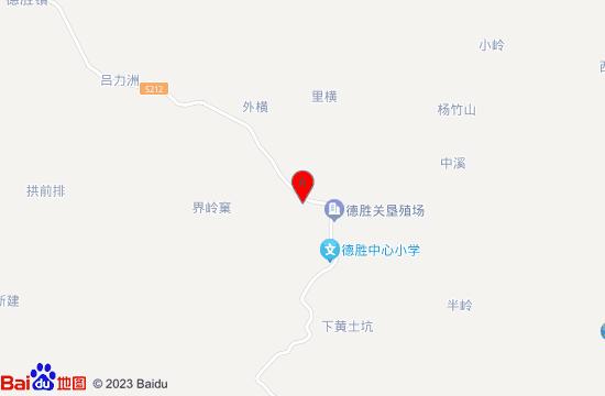 德胜农垦小镇地图
