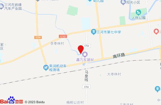 三河幽谷乐园地图