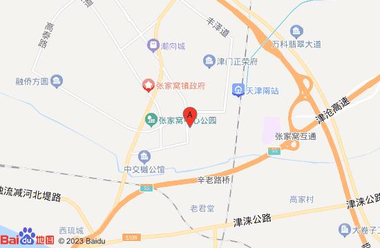 天津社会山文旅港地图