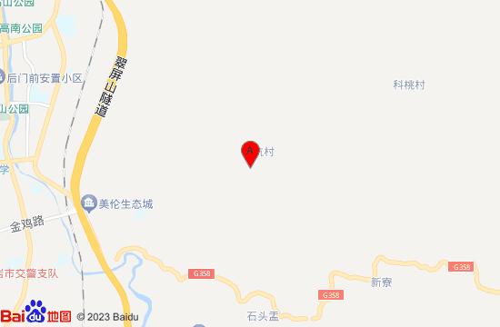 龙岩黄坑天池地图